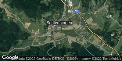 Google Map of Schleusingen