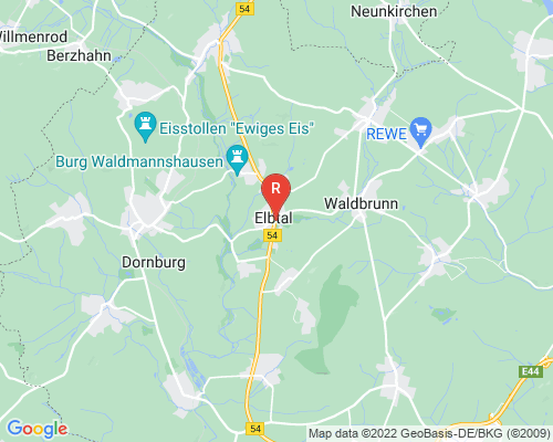 Google Karte von Rohrreinigung Elbtal