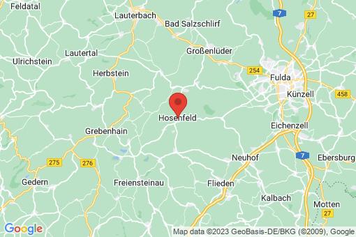 Karte Hosenfeld