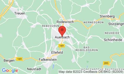 Arbeitsort: Auerbach im Vogtland