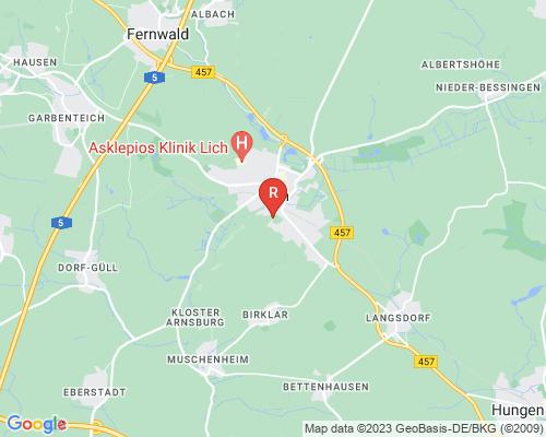 Google Karte von Rohrreinigung Lich