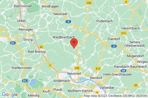 Karte Ehlscheid