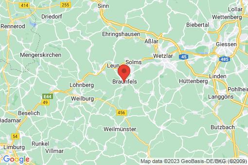 Karte Braunfels