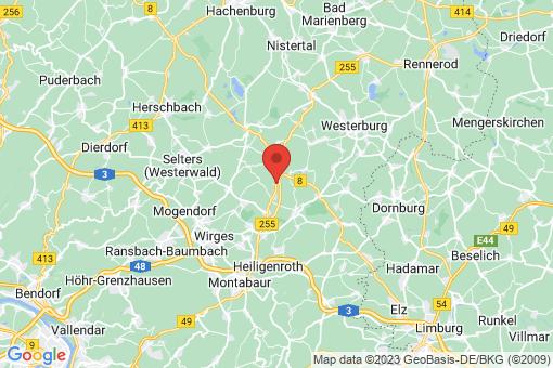 Karte Ettinghausen
