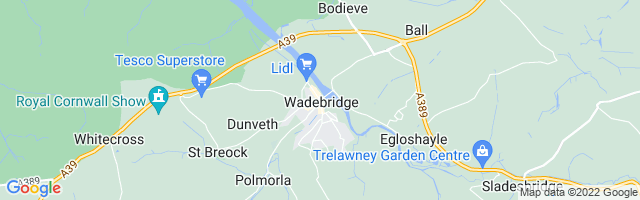 Map Of Wadebridge