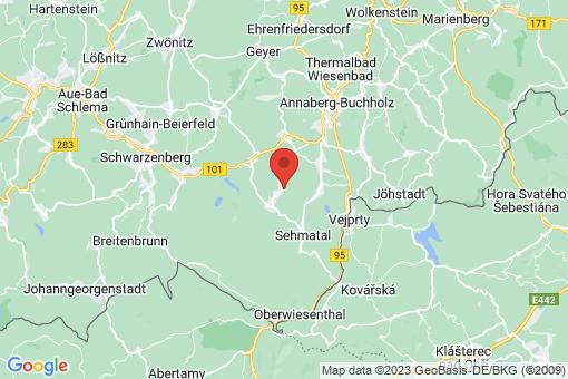 Karte Crottendorf