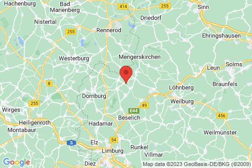 Karte Waldbrunn (Westerwald)