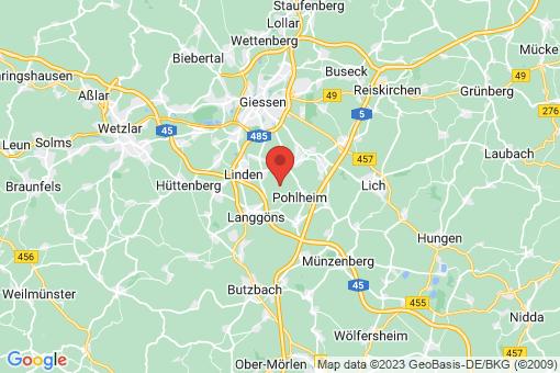 Karte Pohlheim