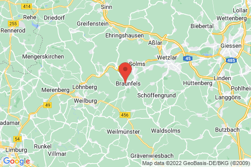 Karte Braunfels Braunfels