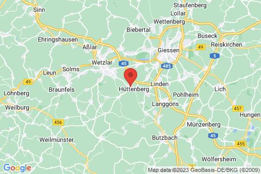 Karte Hüttenberg