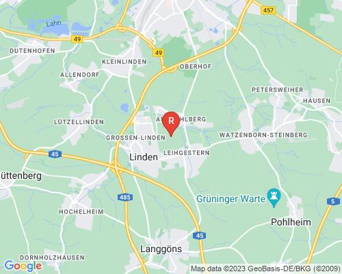 Google Karte von Rohrreinigung Linden