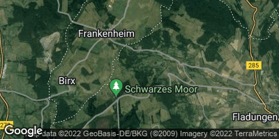 Google Map of Frankenheim / Rhön