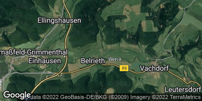 Google Map of Belrieth