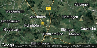 Google Map of Hahn am See