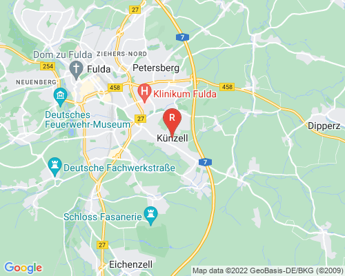 Google Karte von Rohrreinigung Künzell