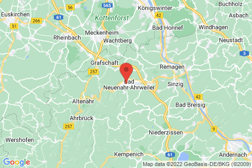 Karte Bad Neuenahr-Ahrweiler