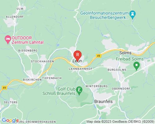 Google Karte von Rohrreinigung Leun