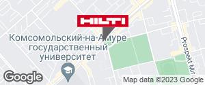 Региональный представитель Hilti в г. Комсомольск-на-Амуре