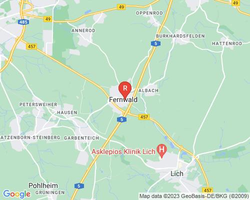 Google Karte von Rohrreinigung Fernwald