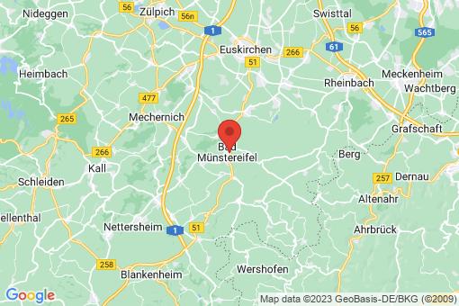 Karte Bad Münstereifel