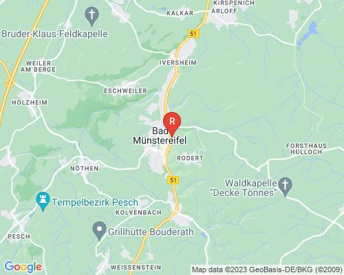 Google Karte von Rohrreinigung Bad Münstereifel