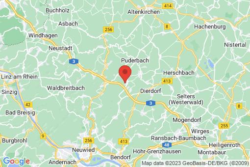 Karte Urbach