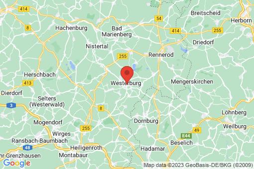 Karte Westerburg