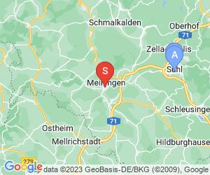 Karte für Planet of Bowl Meiningen