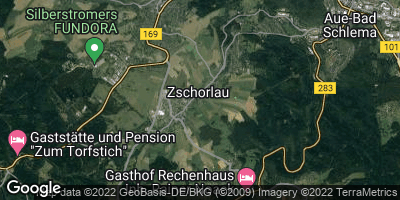 Google Map of Zschorlau