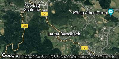 Google Map of Lauter-Bernsbach