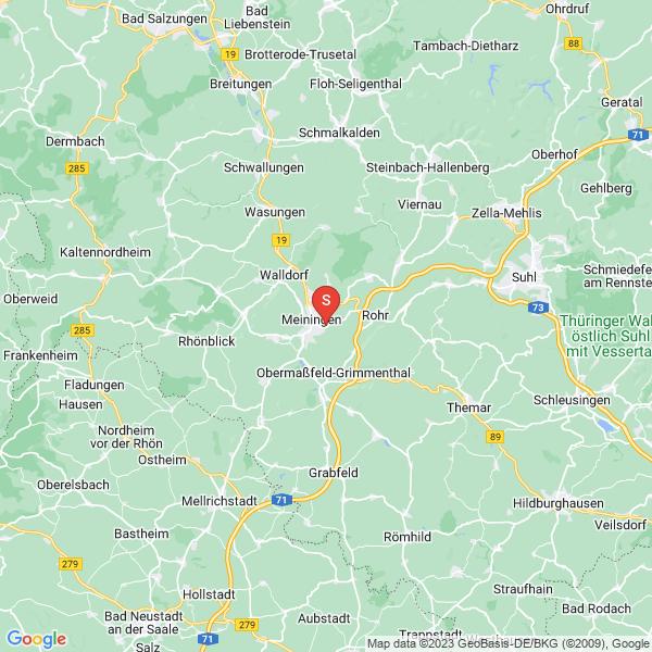 Freizeitzentrum Rohrer Stirn Meiningen