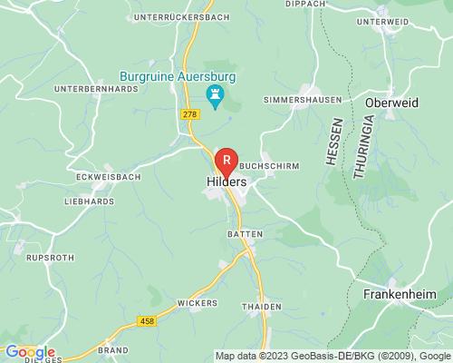 Google Karte von Rohrreinigung Hilders