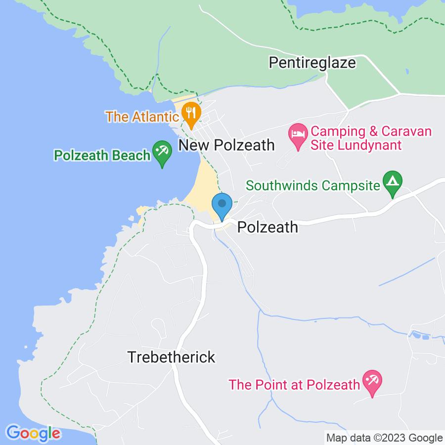 Google Map of 50.573329,-4.914876