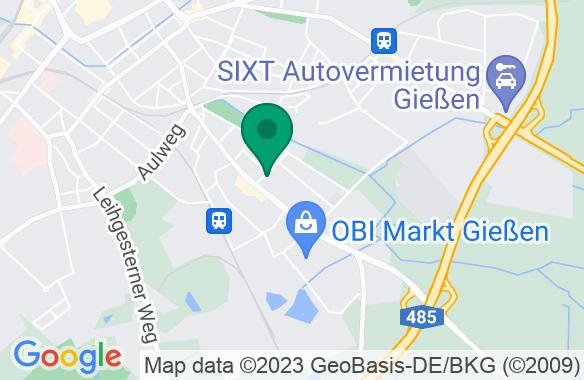 FeG Gießen Karte