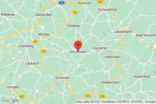 Karte Ulrichstein