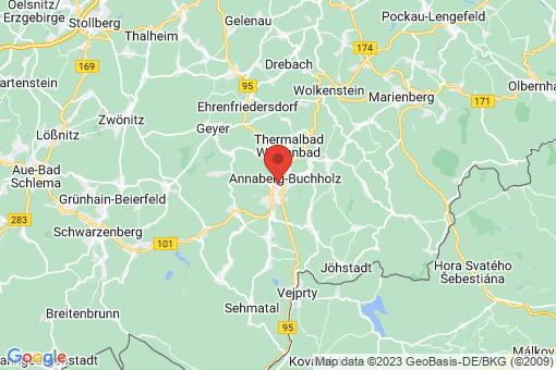 Karte Annaberg-Buchholz