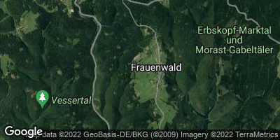 Google Map of Frauenwald
