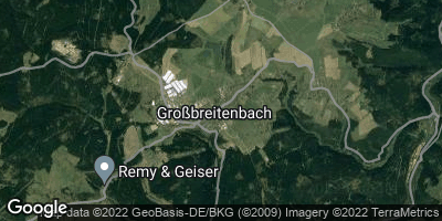 Google Map of Großbreitenbach
