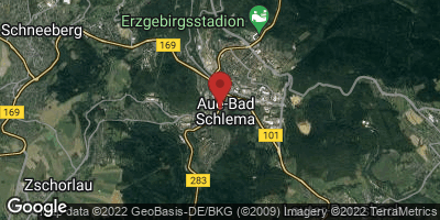 Google Map of Aue