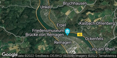 Google Map of Erpel