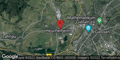 Google Map of Heuchelheim