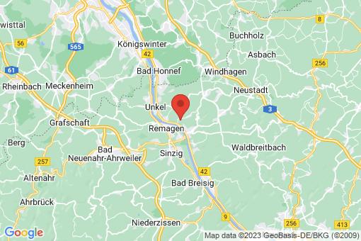 Karte Kasbach-Ohlenberg