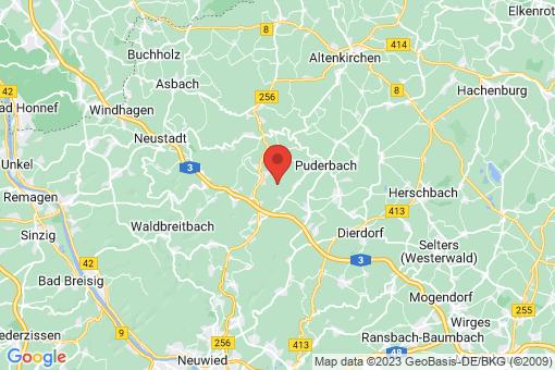 Karte Linkenbach
