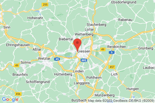Karte Gießen