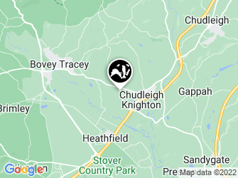 A static map of Chudleigh Knighton Heath