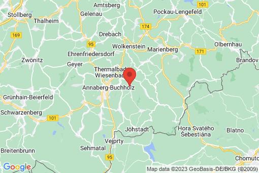 Karte Mildenau