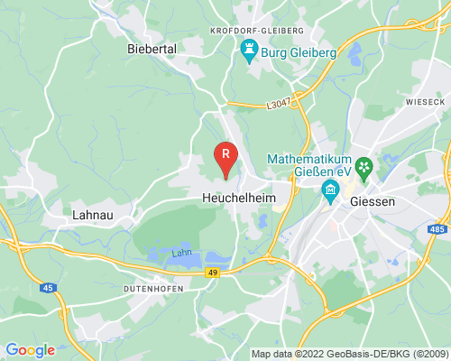 Google Karte von Rohrreinigung Heuchelheim