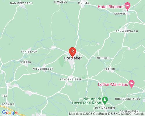 Google Karte von Rohrreinigung Hofbieber