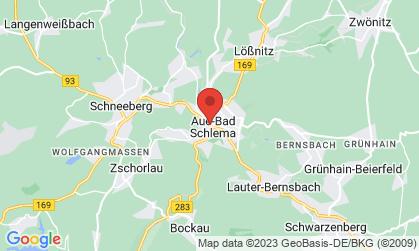 Arbeitsort: Aue, Schneeberg, Markersbach