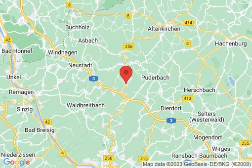 Karte Horhausen